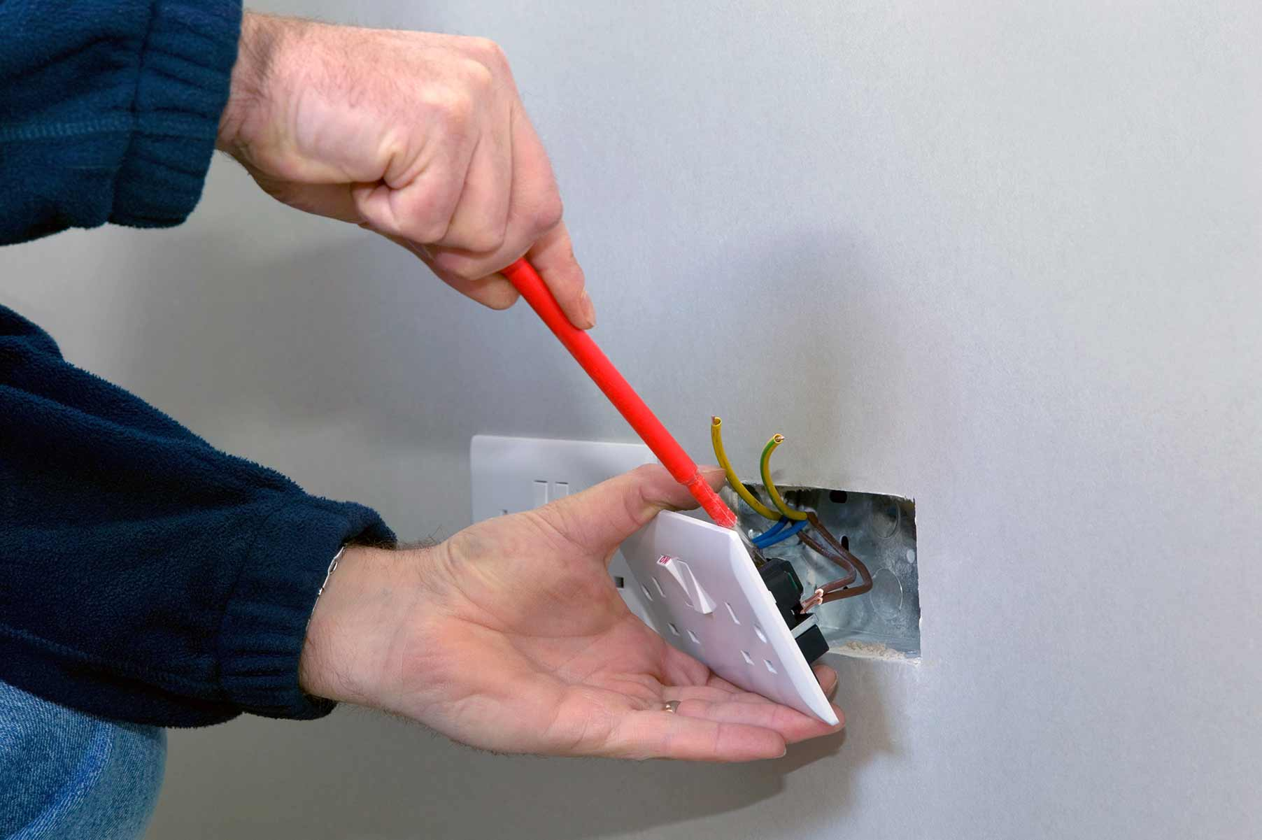 Our electricians can install plug sockets for domestic and commercial proeprties in Brightlingsea and the local area.